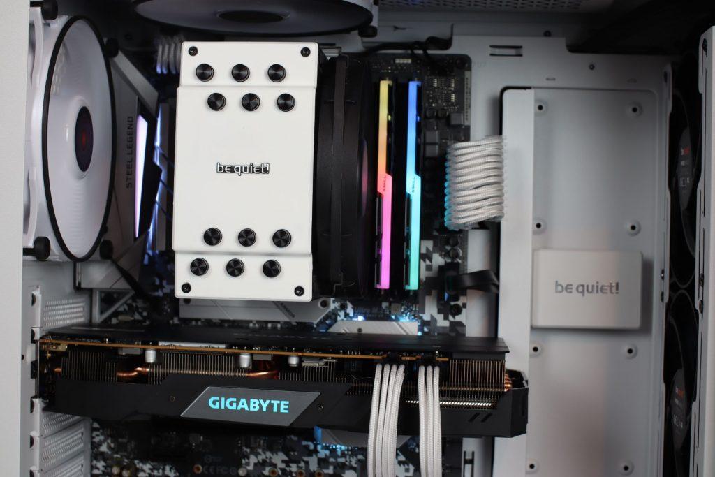 be quiet dark rock 4 białe chłodzenie CPU